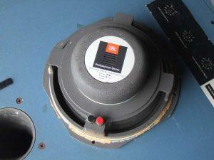 Réparation haut parleur JBL 2121A