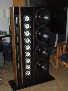 Réparation haut parleur systèmes spéciaux après rénovation